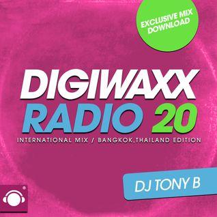DJ TONY B (BANGKOK INVADERS) - DIGIWAXX RADIO #20 (RUN DUB EDITION)