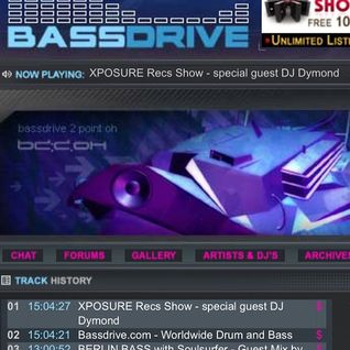 DJ Dymond - Bassdrive Mix (2016)