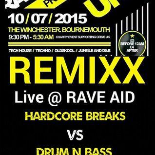 Remixx - Live @ Rave Aid. 10/7/2015