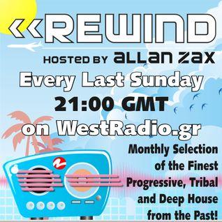 Allan Zax - REWIND Episode 5 on WestRadio.gr (24.06.12)