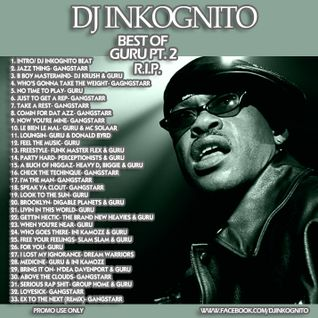 DJ Inkognito GURU Tribute mix 2