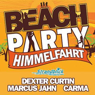 Dexter Curtin, Marcus Jahn, Carma - Live at Strandblick, Cospudener See 14-05-2015 P2
