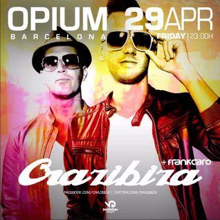 Crazibiza LIVE @ Opium Barcelona (2016-04-29)