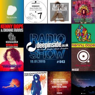 DEEPINSIDE RADIO SHOW 043 (Kenny Dope Artist of the week)