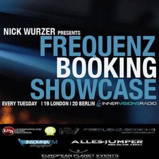 Ingmar Sterkel - Frequenz Booking Showcase 26th March