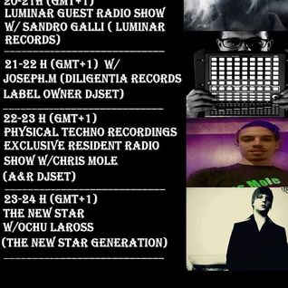 New Star Generation Guest Radio Show/Ochu Laross @ Home Radio, Budapest, Hungary (08.09.2015)