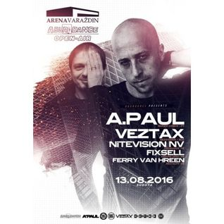 A.Paul @ Abundance Open Air,Arena Varazdin - Croatia 13.08.2016