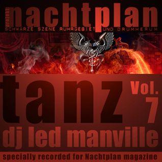 DJ Led Manville - Nachtplan Tanz Vol.7 (2013)