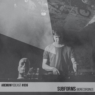 Aremun Podcast 36 – Subforms (Biorecordings)