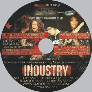 #IndustryShowcase Official Mix CD