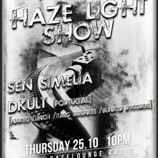 Haze Light Techno Podcast #020 Guest Mix by DKult (25.10.2012)