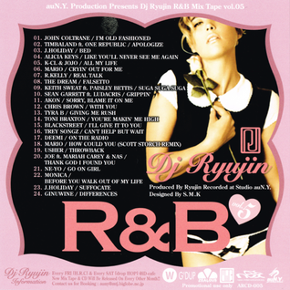 DJ RYUJIN / R&B MIX TAPE Vol.05