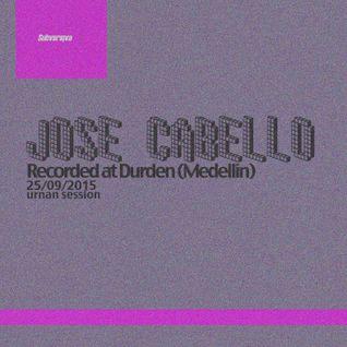 Jose Cabello (Dj Set) @ Durden (Medellin) 25092015