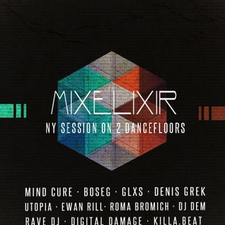 Mind Cure – Mixelixir NY Session Special Bass Mixtape Dec'2013
