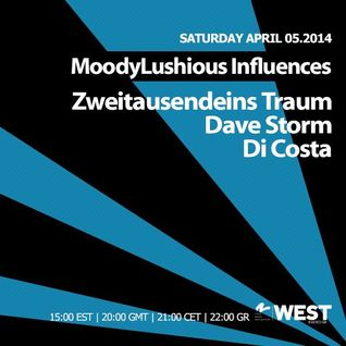 MoodyLushious Influences Episode 36 (April 2014 Edition) (Excl. Guest Mix By Zweitausendeims Traum)