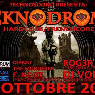 F. Noize live @ Teknodrome - 06 - 10 2012