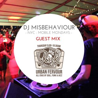 UF WITH DJ MISBEHAVIOUR (NYC) JANUARY 21st , 2016
