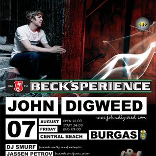 John Digweed - Live at Metropolis Voodoo, Central Beach, Bulgaria (07-08-2009)