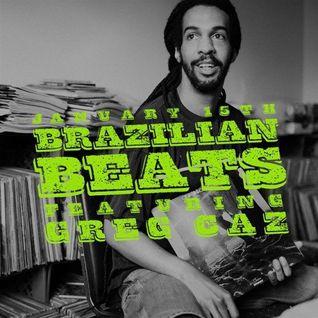Greg Caz - Brazilian Beats - Dust & Grooves Vinyl Residency - 01.15.2015