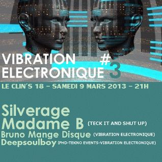 BrunoMangeDisque @ VIBRATION ELECTRONIQUE #03