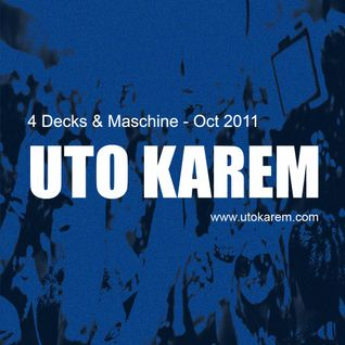 Uto Karem - 4 Decks & Maschine - Oct 2011 [Part 1]