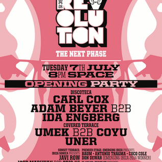 Carl Cox - Live @ Music Is Revoluiton Opening Party, Space (Ibiza) - 07.07.2015