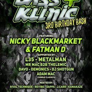 Adam Mac - Bass Klinic 3rd Birthday Promo Mix