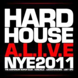 Justin Daniels & Jamie.R - Hard House A.L.I.V.E 2011 Promo Mix