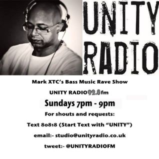 Mark XTC Bass Music Rave Show Featuring Jay Wearden (& Rosie Rosie) 17_01_2016_Unity Radio DAB