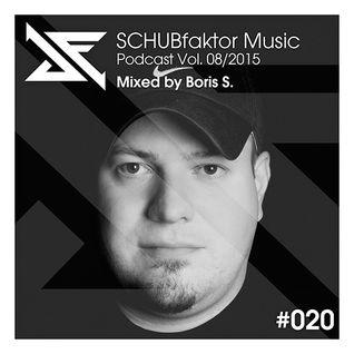 Podcast Vol. 8/2015 - Mixed by Boris S.