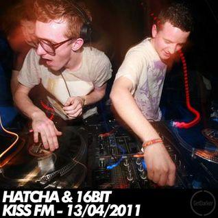 Hatcha b2b 16bit – Kiss FM – 13/04/2011