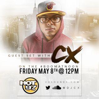 Boom @ Noon On Hot 97 - DJ CX