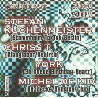 Stefan Küchenmeister @ York´s Bday 2002 - Mingles Club