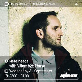 RinseFM 21st September - Villem & Phase