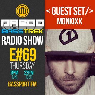 BASS TREK 69 with DJ Daboo on bassport.FM (Guest Set by Monkixx)
