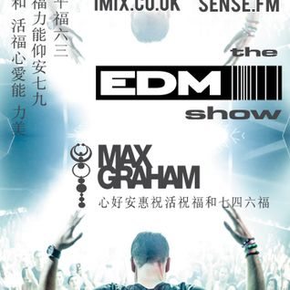 046 The EDM Show with Alan Banks & guest Max Graham