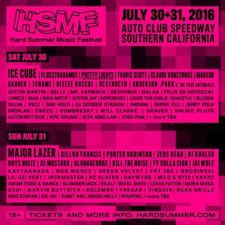 2016.07.31 - Amine Edge & DANCE @ Hard Summer Music Festival, Fontana, USA