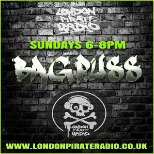DJ Bagpuss live on London Pirate Radio Sunday 15 May 2016 - Amen breakbeat show