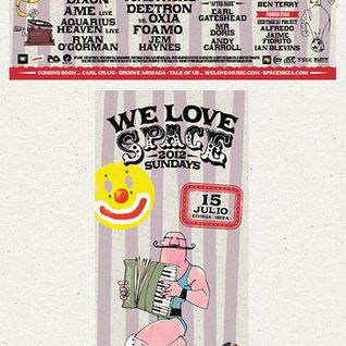 Dixon - Live @ We Love Sundays, Space, Ibiza (15-07-2012)
