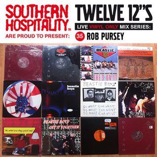 Twelve 12's Live Vinyl Mix: 35 - MCA Tribute - Rob Pursey