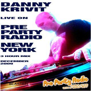 SOUL OF SYDNEY 257 Danny Krivit on Pre Party Radio - Dec 3 2009 (Rare Mix)