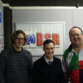 The Landed - Live On BSR 103.4FM DriveTime with Dad 28th Feb 2014