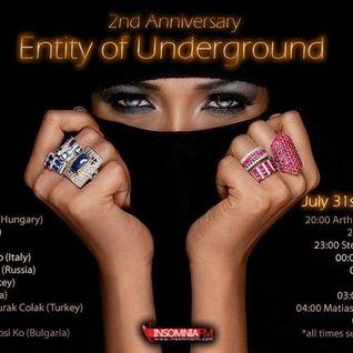 cem ermis & burak colak - entity of underground guest mix - july 2013