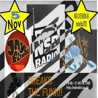 NRG Live Show UK - NSB Radio - 5th Nov - SG Jayl Funk