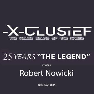X-Clusief Fm The Hague invites Robert Nowicki  (12th June 2015)