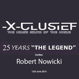 X-Clusief Fm The Hague invites Robert Nowicki  (12th June 2015)