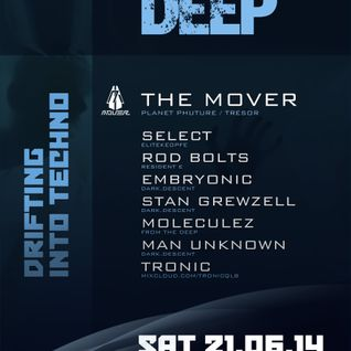 Moleculez - Warm Up Mix for From The Deep Drifting Into Techno, 21 June 2014 at Rote Flora/Hamburg