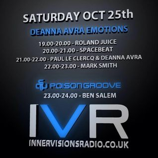 Spacebeat - Guest mix for Deanna Avra (Emotions @Innervisions Radio) [25.10.2014]