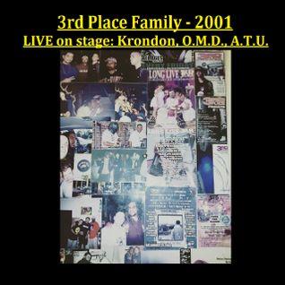 Krondon - O.M.D. - A.T.U. - LIVE on stage at 3rd Place 2001 in Pomona, CA - HipHop Philosophy Radio