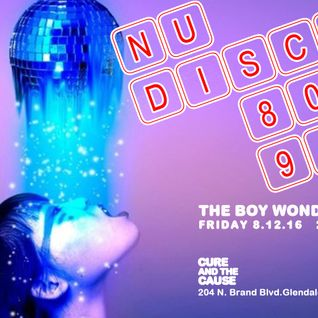 nu-disco * 80s * 90s night